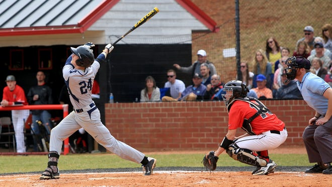 Roberson beat North Buncombe, 8-4, when the teams met March 22 in Weaverville.