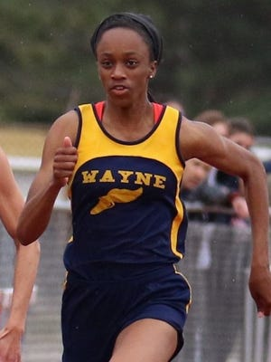 Wayne Memorial's Anavia Battle credits Intensity Track Club for helping her become a state champion sprinter.