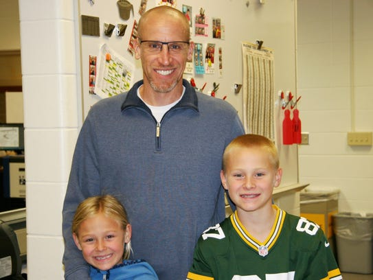 A visit to Wausau East High School gives children an