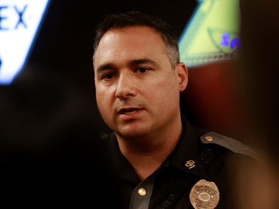 New Mexico State Police Chief Pete N. Kassetas anwers
