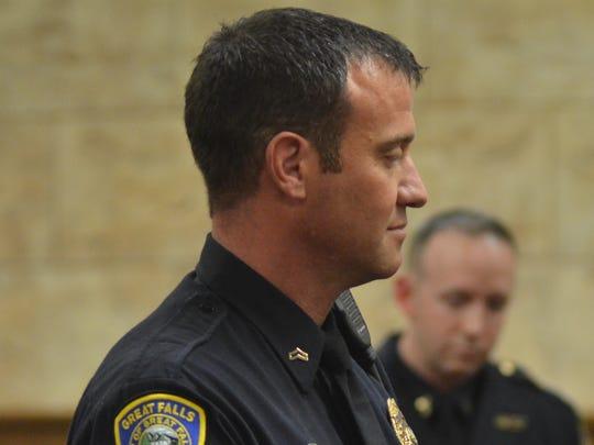 Detective Aaron Frick