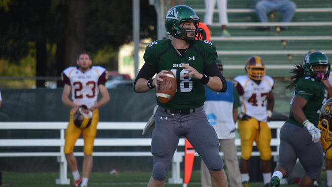 Delta State is led by quarterback Tyler Sullivan.