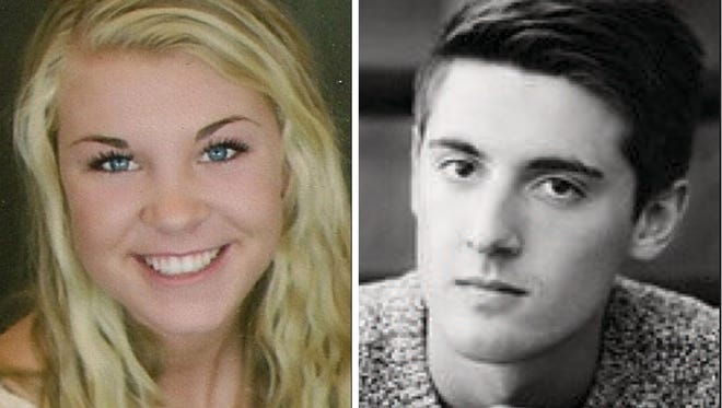 Taylor Ball and Bryce Gerrits of Kaukauna High School are this week's top scholars.