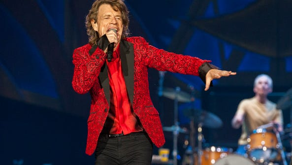 FILE - In this July 4, 2015 file photo, Mick Jagger