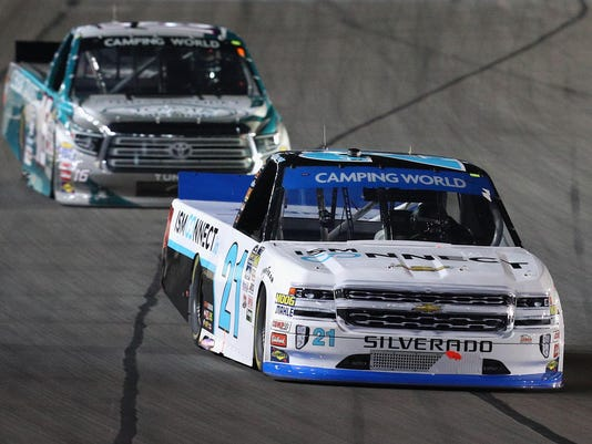 NASCAR Camping World Truck Series JAG Metals 350 Driving Hurricane Harvey Relief