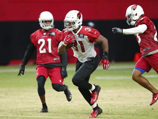 Cardinals practice