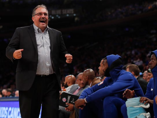 Stan Van Gundy and the Pistons are mired in an eight-game