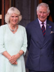 The Duchess of Cornwall and Prince Charles flew to