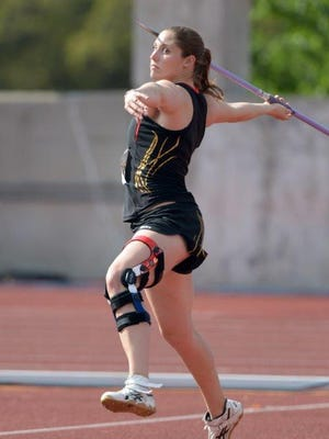 Former Purdue javelin thrower Kara Patterson