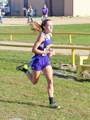 Bronson's Grace Welch was named to the Big 8 All Conference Cross Team for the 2020 season.
