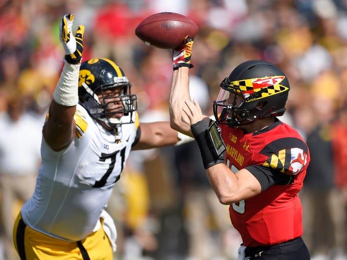 48 Photos: Iowa vs. Maryland