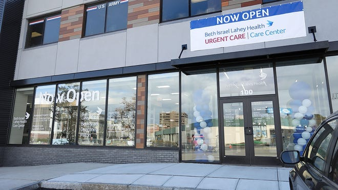 A new Beth Israel Lahey Health urgent care center has opened on Walter J. Hannon Parkway in Quincy.