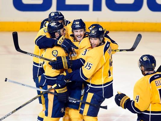 USP NHL: STANLEY CUP PLAYOFFS-CHICAGO BLACKHAWKS A S HKN USA TN