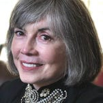 "On Saturday (Dec. 6), prolific author and Palm Desert resident Anne Rice will sign copies of the book and greet fans at Just Fabulous in Palm Springs. She's appearing there with her son, novelist Christopher Rice, who also will sign copies of his new books, ""The Vines"" and ""The Flame."""