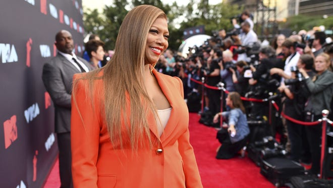 Queen Latifah arrives at the MTV Video Music Awards at the Prudential Center in Newark, N.J., in August 2019.