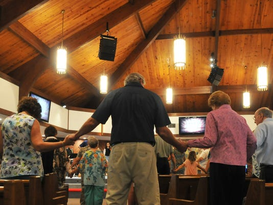 Post  Hurricane Matthew church services