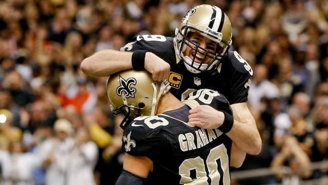 New Orleans Saints quarterback Drew Brees is excited about Jimmy Graham's role in the team's offense.
