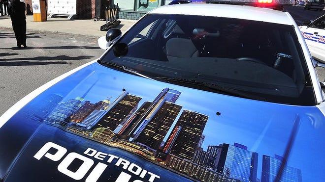 File: Detroit police cruiser