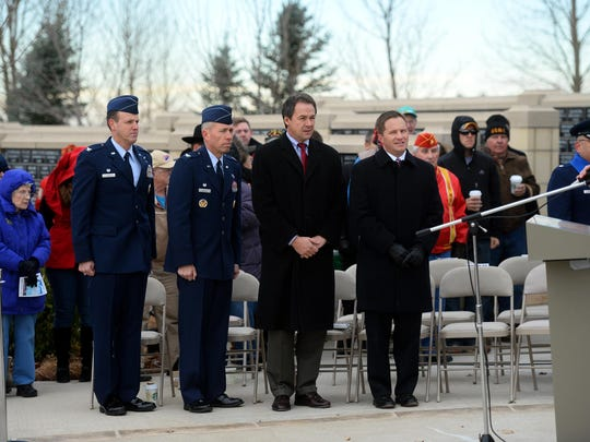 The Veterans Day Ceremony at the Montana Veterans Memorial, observed at the 11th hour on the 11th day of the 11th month in remembrance of the original Armistice Day of World War I when hostilities ended between German and Allied forces.