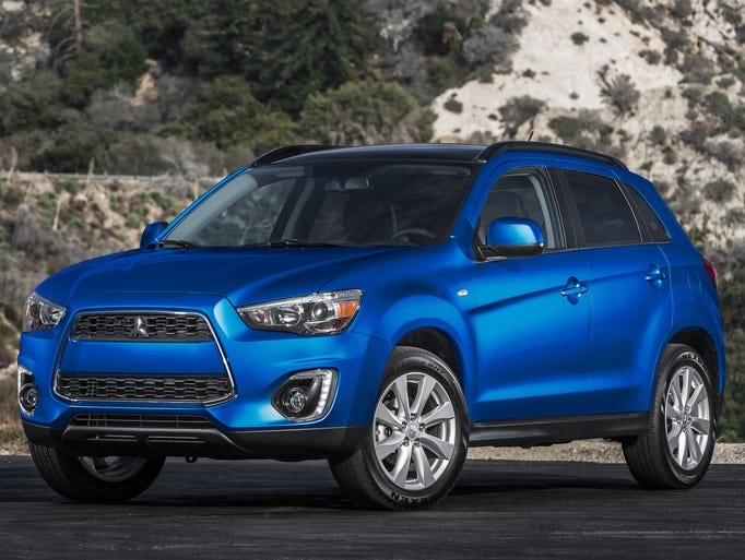 Mitsubishi's 2015 Outlander Sport, along with the tiny