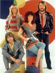 ABBA The Concert: A Tribute to ABBA will pay homage to the '70s quartet of (clockwise from bottom left) Björn Ulvaeus, Agnetha Fältskog, Anni-Frid (Frida) Lyngstad and Benny Andersson on Aug. 19 at the Indiana State Fairgrounds.