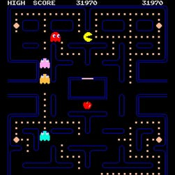 A mobile version of the classic arcade game 'Pac-Man.'