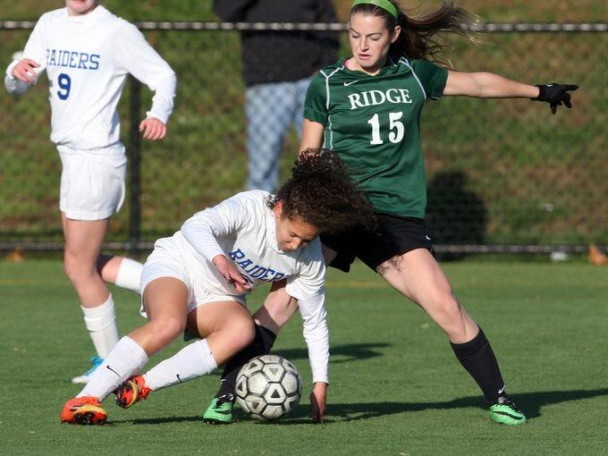 Kristina Mueller was a three-year member of Ridge's elite girls soccer team