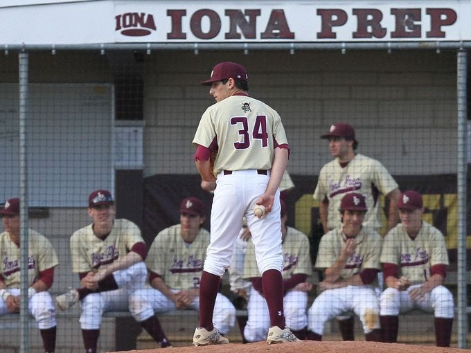 Iona Prep defeated Stepinac 15-6 in a baseball game at Iona Prep in New Rochelle April 28, 2015.