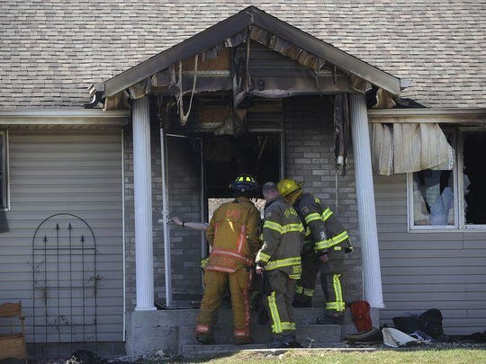 A house fire claimed the lives of a homeowner, David