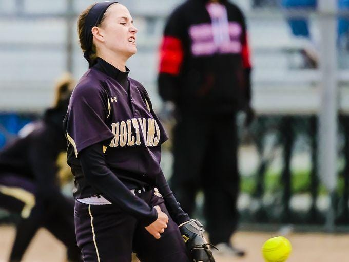 Junior Bry Chapman helped Holt to CAAC Blue, Softball Classic and district titles this season.