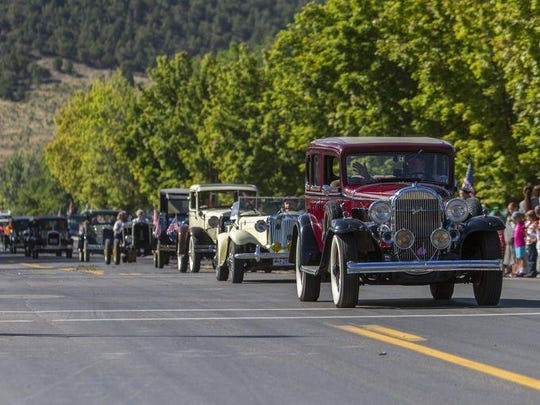 The 2018 Iron County Fair features a parade and car show.