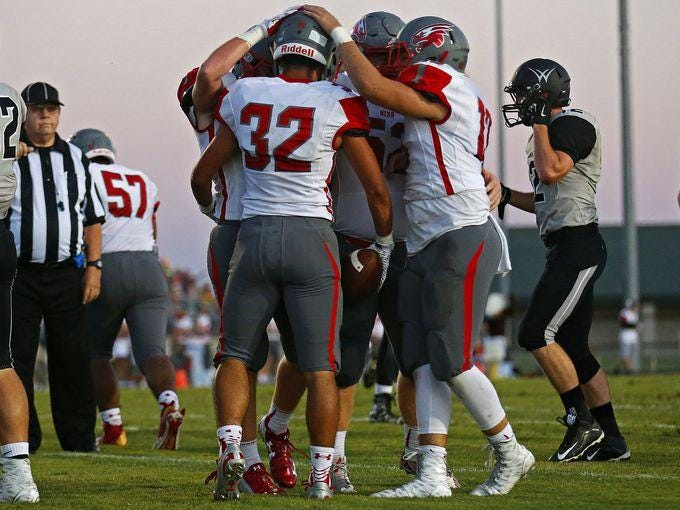 Nixa holds the No. 1 seed in Class 5 District 5 football with two weeks remaining in the 2015 regular season.