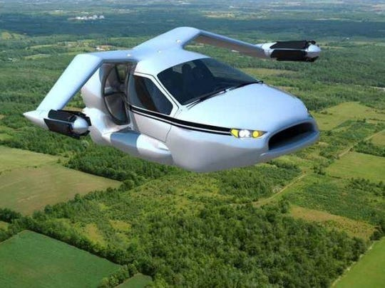 Terrafugia is showing off a concept of a flying car