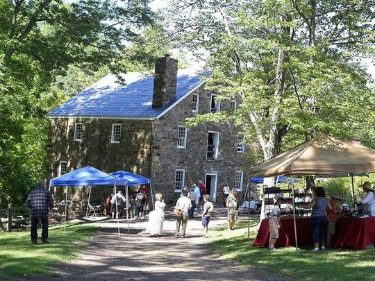 Learn the art and science of early industrial crafting at Cooper Gristmill on Saturday.