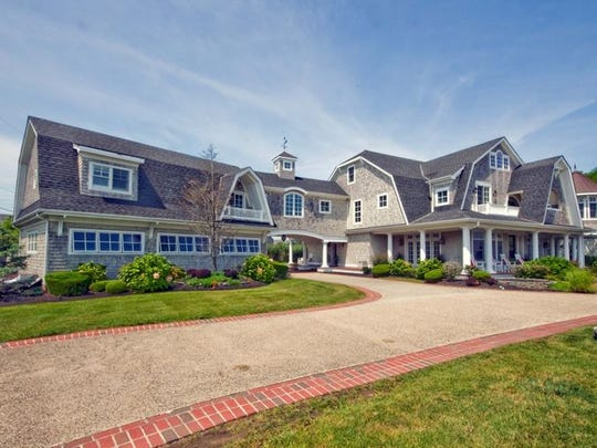 This Monmouth Beach mansion was designed by Daryl Johnson, the architect who worked on the home of Denver Broncos star Peyton Manning.