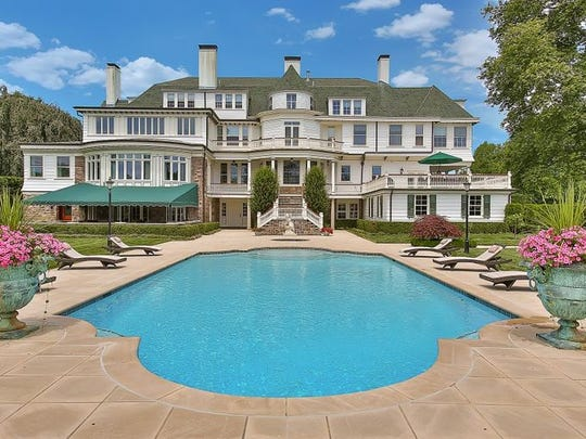 This Rumson property was designed by Henry Hudson Holly,