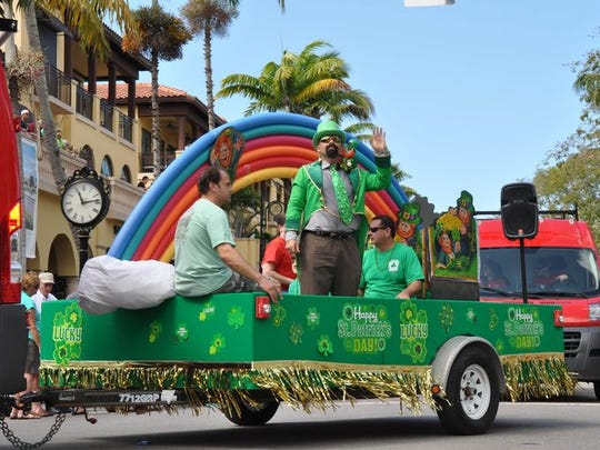 The Naples St. Patrick's Day Parade