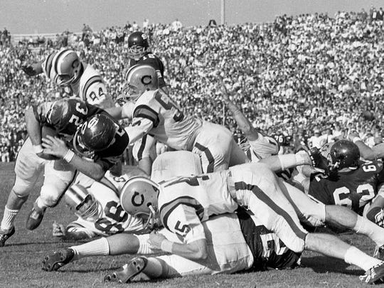 One must throw it back even further than this 1965 game to find the last time the Clemson-Carolina rivalry had a great nickname.