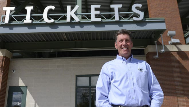 Mark Wagner retired June 2 after 40 years in the Green Bay Packers ticket office, most of them as its director.