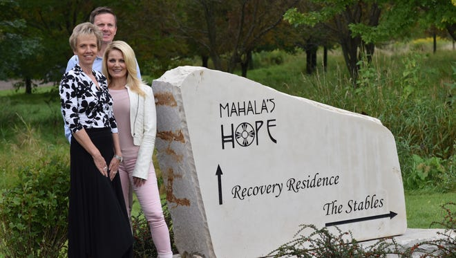 Mahala's Hope will host its inaugural fundraiser on Oct. 26. Pictured are, from left, Mahala's Hope Executive Director Sandy Hardie and fundraiser co-hosts Steve and Trisha Klapperich.