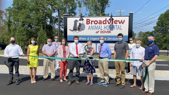 The Greater Dover Chamber of Commerce has welcomed Broadview Animal Hospital as a new member