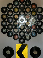 Records adorn the walls of the new Eyeconik Records