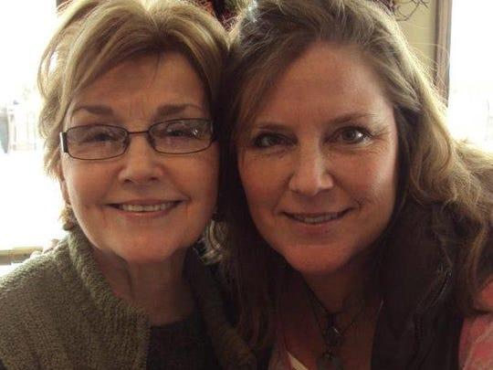 In 2015, Ardis Wait Renkoski, left, and her youngest daughter, Michele Renkoski-Hollis, share memories of Paige Renkoski.