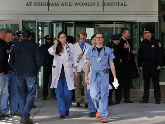 AP HOSPITAL SHOOTING A USA MA