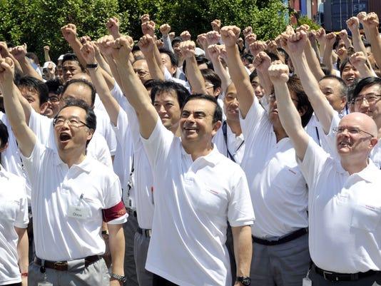 Japan's auto giant Nissan Motor presiden
