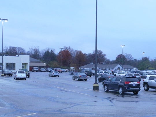 The Monfort Heights Kroger at North Bend and Cheviot roads will add fuel pumps to the site. The plan calls for the former Blockbuster Video building on the far left to be taken down and the tanks and pumps installed.