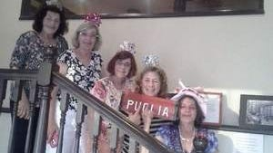 Puglia Sisters and Spouses dine at Puglia of New York Restaurant, Red Bank