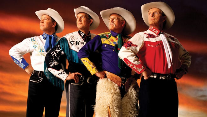 Award-winning Western music quartet Riders in the Sky gives a tribute concert to Roy Rogers on March 31 at Southern Door Community Auditorium.