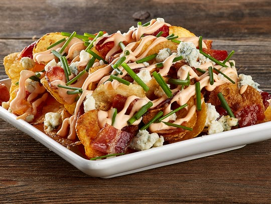Harkins small plate Kettle Nachos.