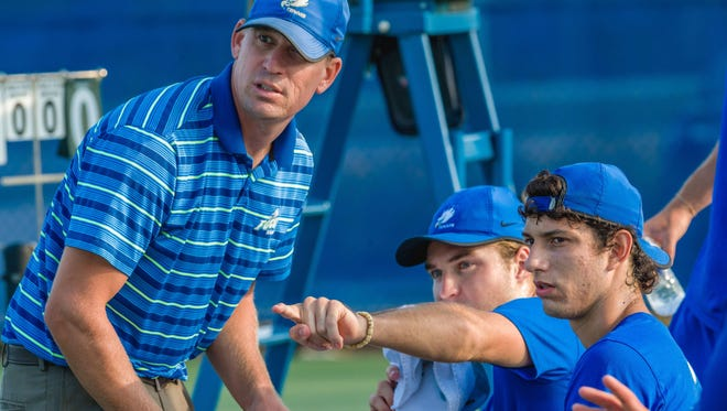 FGCU coach CJ Weber looks to guide the Eagles to their second-ever ASUN tournament title when the Eagles host it for the first time this weekend.